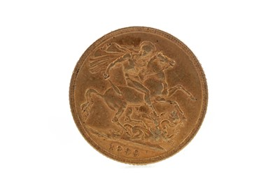 Lot 2 - A QUEEN VICTORIA GOLD SOVEREIGN DATED 1899