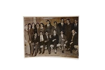 Lot 1743 - AN ARGENTINA INTERNATIONAL FOOTBALL TEAM PHOTOGRAPH