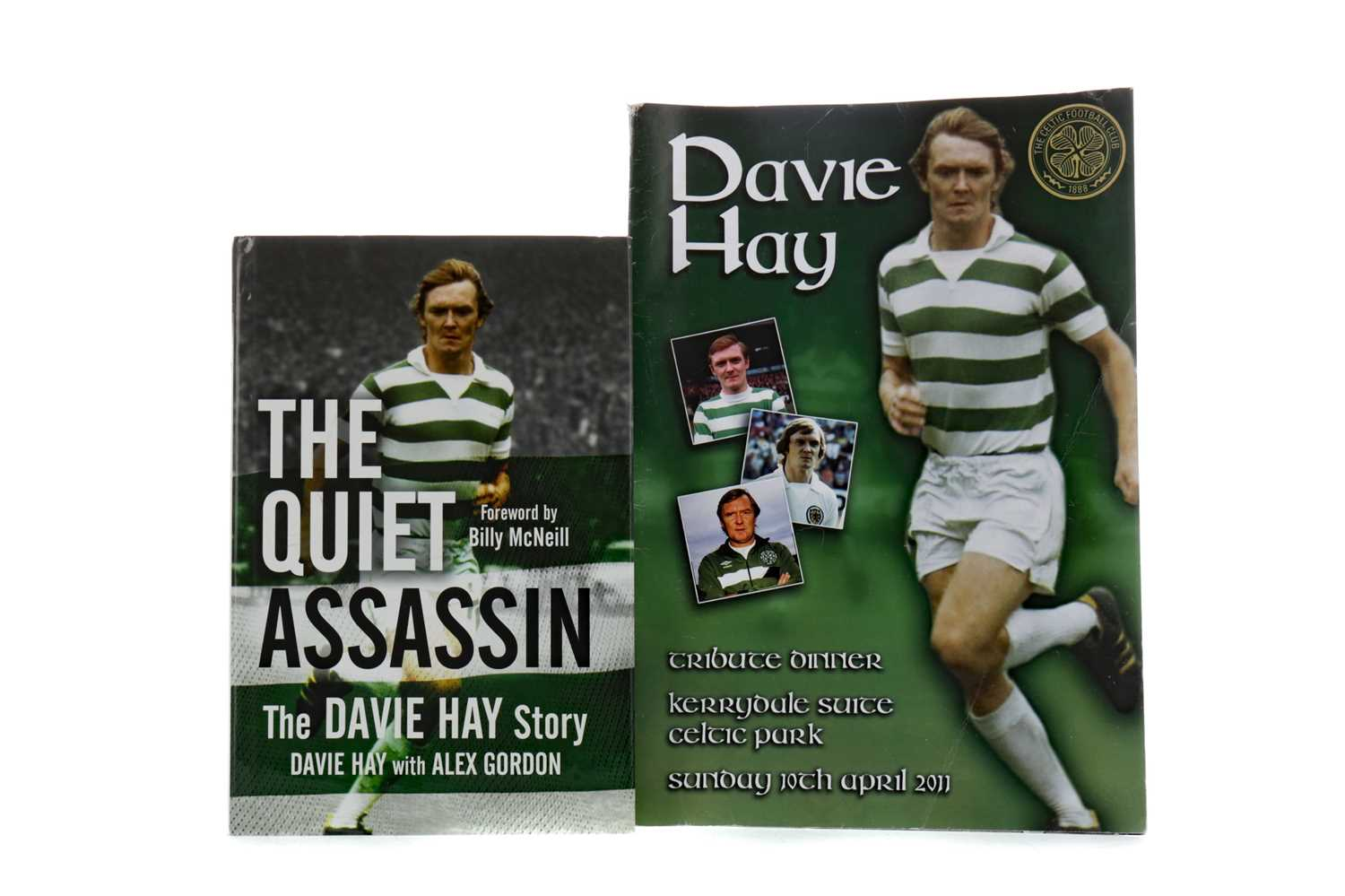 Lot 1750 - A SIGNED COPY OF THE QUIET ASSASSIN BY DAVIE HAY