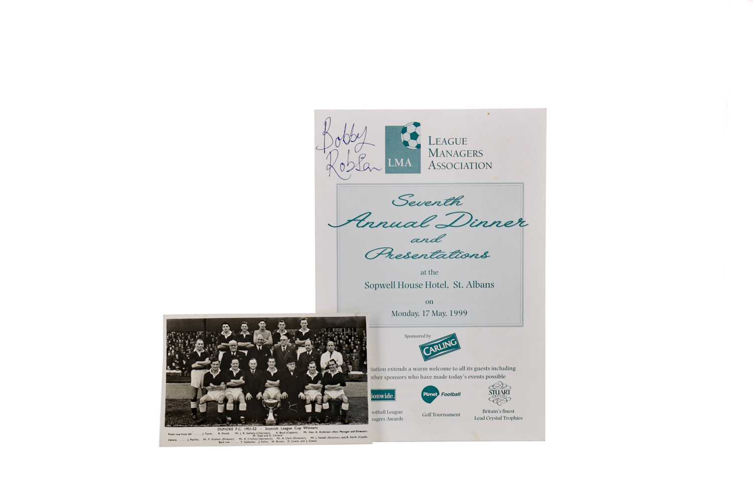 Lot 1756 - A LOT OF FOOTBALL AUTOGRAPHS INCLUDING MATT BUSBY AND STANLEY ROUS