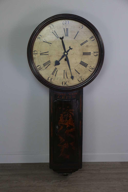 Lot 1176 - A SCOTTISH EAST COAST TAVERN/ACT OF PARLIAMENT CLOCK OF 18TH CENTURY DESIGN