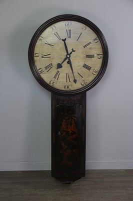 Lot 1142 - A LATE 18TH CENTURY AND LATER SCOTTISH EAST COAST TAVERN/ACT OF PARLIAMENT CLOCK