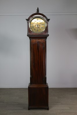 Lot 1143 - A 19TH CENTURY LONGCASE CLOCK BY WILLIAM WINSTANLEY OF HOLYWELL