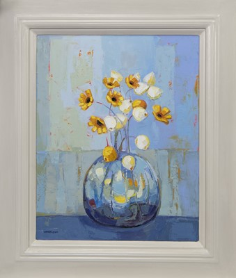 Lot 529 - AROUND SPRING, AN OIL BY KIRSTY WITHER