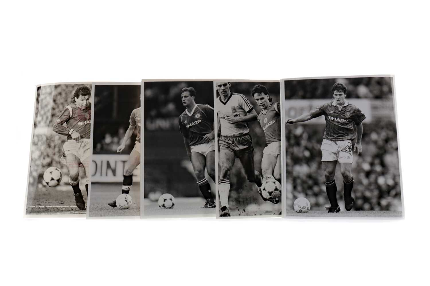 Lot 1773 - A MANCHESTER UNITED F.C. ASSOCIATED PRESS PACK