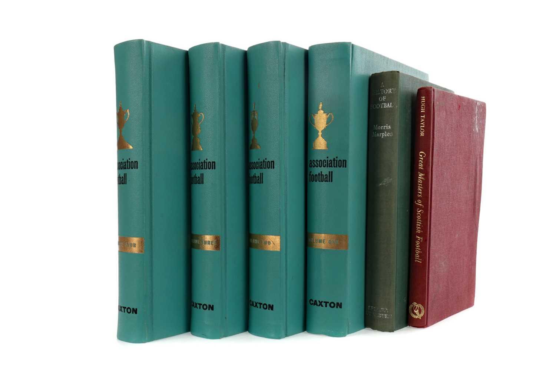 Lot 1785 - A LOT OF SIX BOOKS ON FOOTBALL