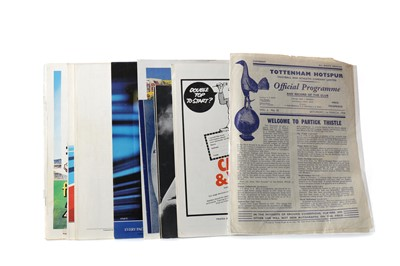 Lot 1789 - A COLLECTION OF ENGLAND INTERNATIONAL PROGRAMMES