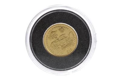 Lot 8 - A CHRISTOPHER COLUMBUS $10 TEN DOLLAR COIN