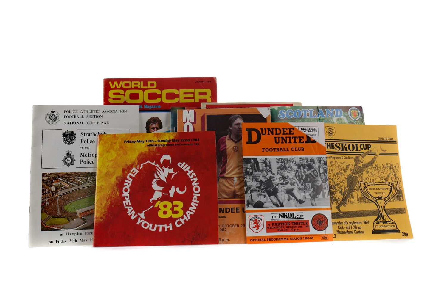 Lot 1808 - A COLLECTION OF FOOTBALL PROGRAMMES
