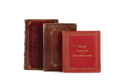 Lot 1099 - A VOLUME OF MID 19TH CENTURY HAND WRITTEN RELIGIOUS VERSE