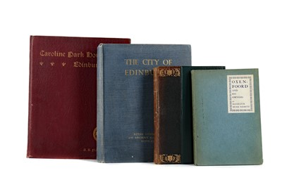 Lot 1094 - THE ROYAL COMMISSION ON THE ANCIENT MONUMENTS OF SCOTLAND AND THREE OTHER BOOKS