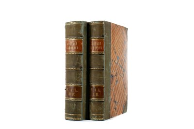 Lot 1100 - TWO VOLUMES, JOHNSON (GEORGE W) - THE COTTAGE GARDENER