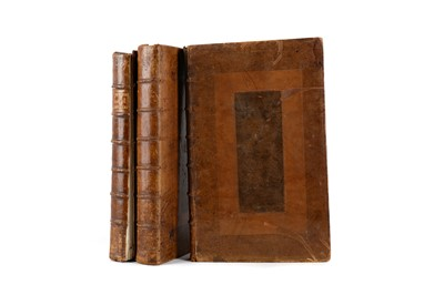 Lot 1101 - THREE VOLUMES, CLARENDON (Edward Earl of) - THE HISTORY OF THE REBELLION AND CIVIL WARS IN ENGLAND