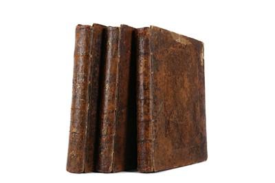 Lot 1103 - THREE VOLUMES OF ESSAYS ON PHYSIOGNOMY BY JOHN CASPAR LAVATER