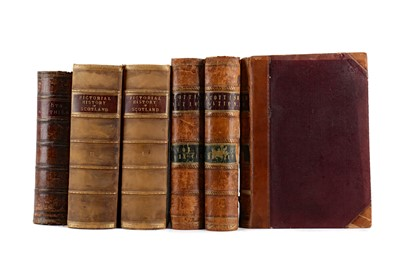 Lot 1105 - TWO VOLUMES OF THE PICTORIAL HISTORY OF SCOTLAND BY JAMES TAYLOR AND FOUR OTHER VOLUMES