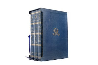 Lot 1106 - THREE VOLUMES OF THE BOOK OF KINGS BY ARNOLD MCNAUGHTON