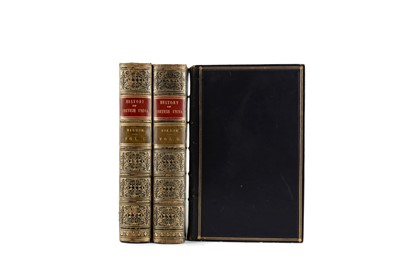 Lot 1114 - THREE VOLUMES OF THE HISTORY OF BRITISH INDIA BY H. H. WILSON