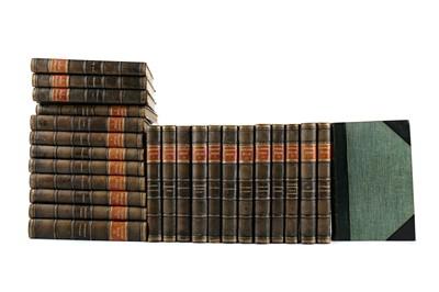 Lot 1117 - TWENTY FIVE VOLUMES OF THE WAVERLEY NOVELS BY SIR WALTER SCOTT