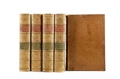 Lot 1121 - FIVE VOLUMES OF THE NOVELS BY SIR WALTER SCOTT