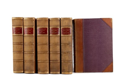 Lot 1122 - SIX VOLUMES OF THE PICTORIAL HISTORY OF ENGLAND
