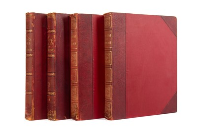Lot 1126 - TWO VOLUMED OF LIVING RACES OF MANKIND BY  HUTCHISON; GREGORY AND LYDEKKER AND TWO OTHER VOLUMES
