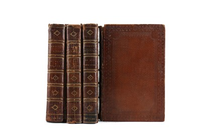 Lot 1127 - FOUR VOLUMED OF HISTORY OF HIS OWN TIME BY BISHOP BURNET