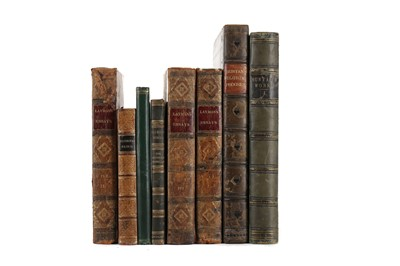 Lot 1135 - A LOT OF LEATHER BOUND CLASSICAL WORKS