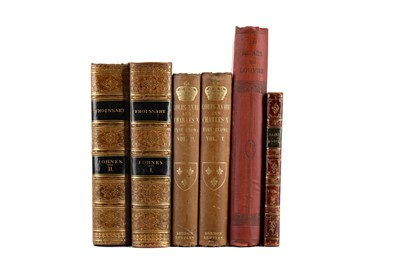 Lot 1136 - A LOT OF LEATHER BOUND AND OTHER CLASSICAL WORKS