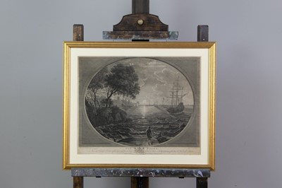 Lot 1006 - CLAUDE LORRAIN (AFTER), TWO LIN EENGRAVINGS BY P.C CANOT AND JAMES MASON