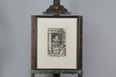 Lot 1007 - ELEVEN LINE ENGRAVED PORTRAITS OF MONARCHS AND PERSONAGES OF GREAT BRITAIN