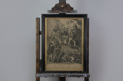 Lot 1015 - AN ENGRAVING AFTER RUBENS AND SIX OTHERS
