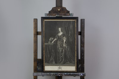 Lot 1016 - AN ENGRAVING AFTER VAN DYCK AND ANOTHER
