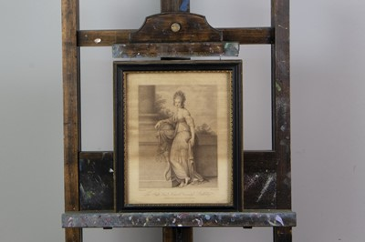Lot 1023 - TWO ENGRAVINGS AFTER RICHARD COSWAY
