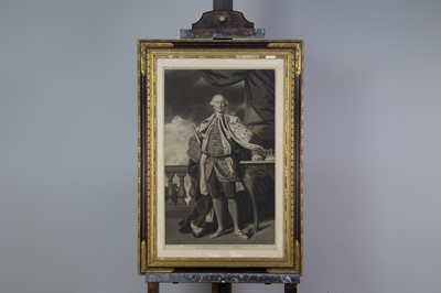 Lot 1024 - A MEZZOTINT AFTER SIR JOSHUA REYNOLDS AND ANOTHER