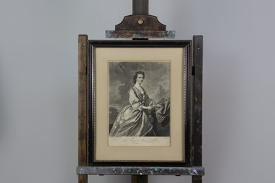 Lot 1032 - A MEZZOTINT AFTER ALLAN RAMSAY AND FIVE OTHERS
