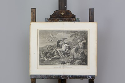 Lot 1038 - A FOLIO OF UNFRAMED PRINTS AND WATERCOLOURS