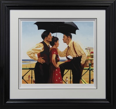 Lot 551 - THE TOURIST TRAP, A LIMITED EDITION GICLEE PRINT BY JACK VETTRIANO