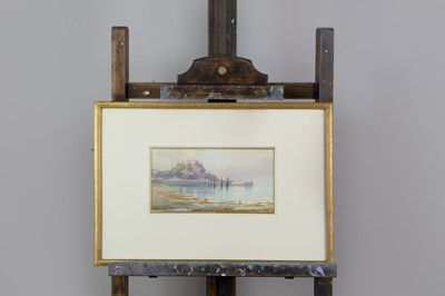 Lot 1050 - A WATERCOLOUR BY CLIFFORD GEORGE BLAMPIED