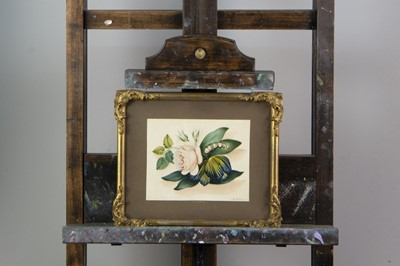 Lot 1052 - FOUR WATERCOLOURS BY F GILESON AND ANOTHER