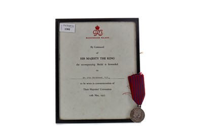 Lot 1301 - AN ELIZABETH II GEORGE MEDAL, ALONG WITH A CERTIFICATE