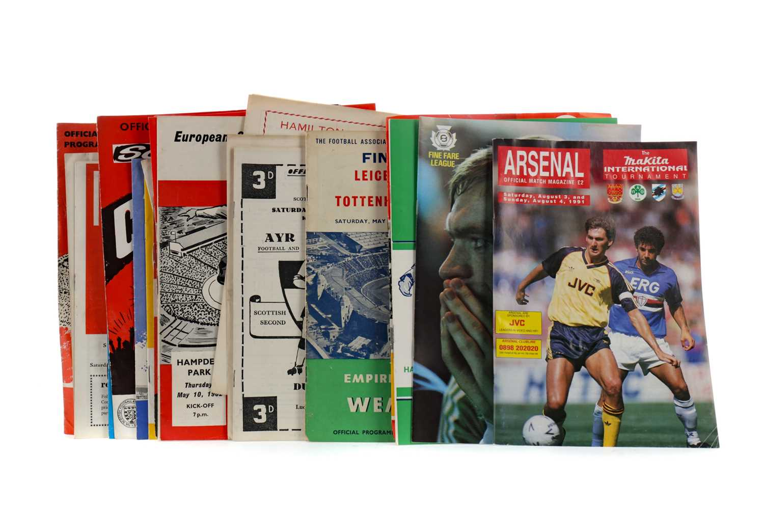Lot 1824 - A COLLECTION OF SCOTTISH FOOTBALLING PROGRAMMES