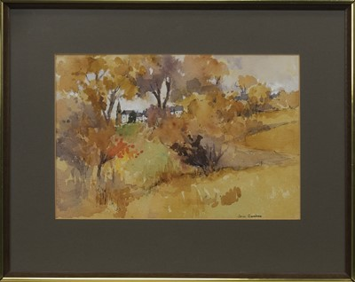 Lot 558 - A PAIR OF WATERCOLOURS BY JEAN GARDNER