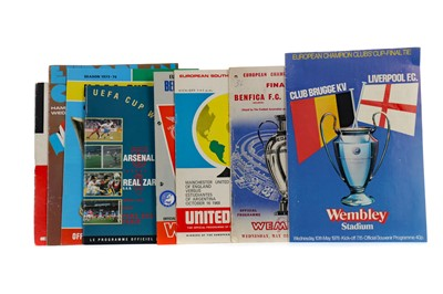 Lot 1835 - A COLLECTION OF EUROPEAN PROGRAMMES