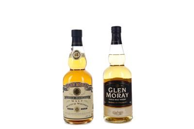 Lot 41 - GLEN MORAY 15 YEARS OLD AND GLEN MORAY NAS