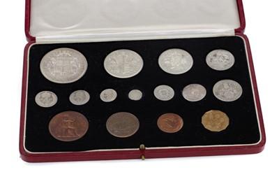 Lot 3 - A GEORGE VI 1937 SPECIMEN COIN SET