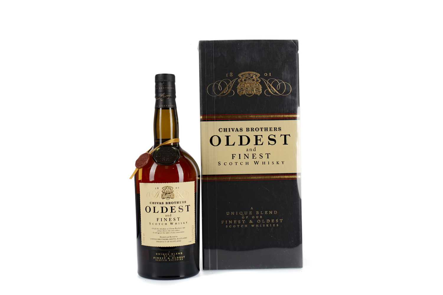 Lot 54 - CHIVAS BROTHERS OLDEST AND FINEST - ONE LITRE