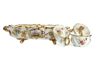 Lot 1040 - AN EARLY 20TH CENTURY LIMOGES PORCELAIN SET