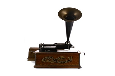 Lot 1117 - AN EARLY 20TH CENTURY EDISON HOME PHONOGRAPH