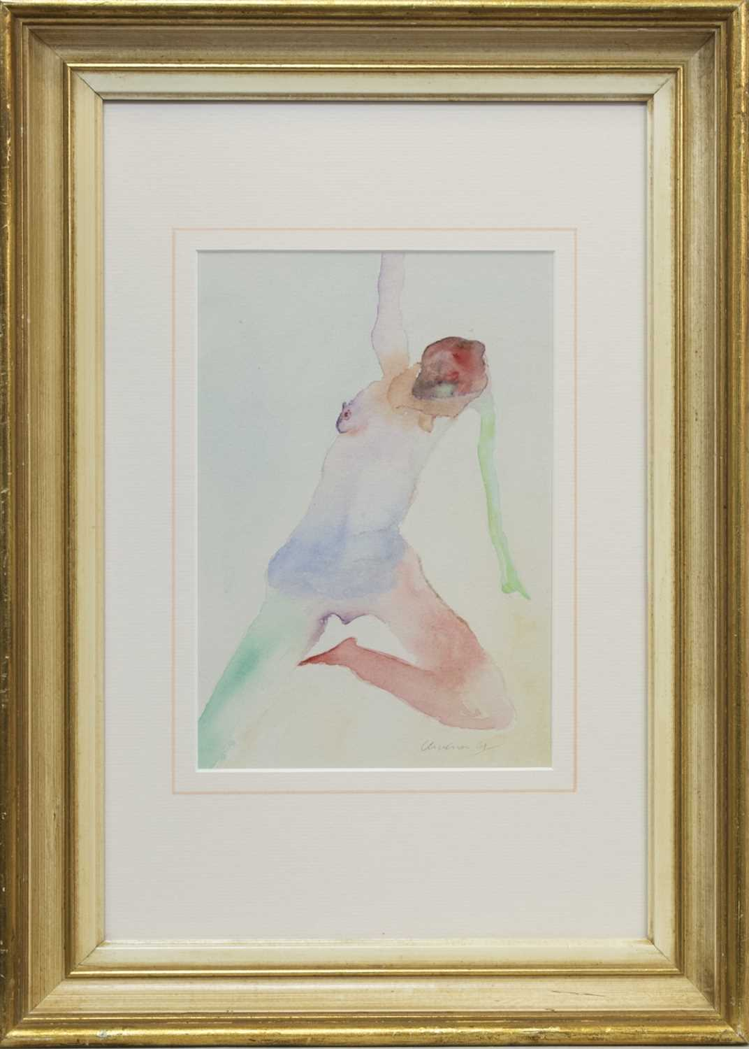 Lot 590 - UNTITLED 1961, A WATERCOLOUR BY NATHAN OLIVEIRA