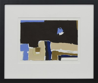 Lot 603 - BLUE MOON, AN OIL BY JACKIE GARDINER